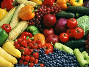 Fill in your nutritional gaps by consuming fruits and veggies