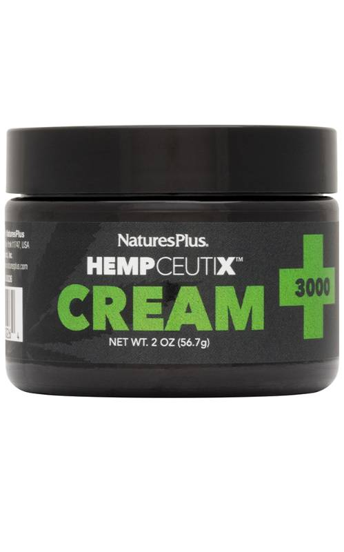 New HempCeutix CBD products from Natures Plus