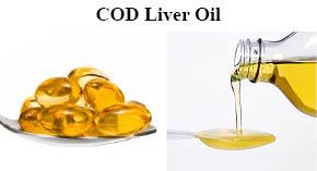 cod liver pills/oil
