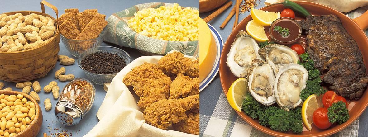 zinc in foods