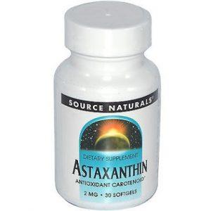 Astaxanthin Antioxidant Nutritional Herbal Health Benefits